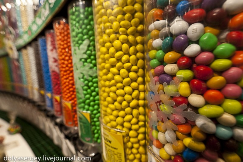 M&Ms World – шоколадный рай
