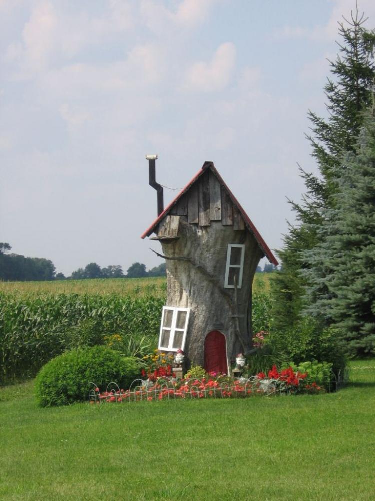 фото дома как в сказке