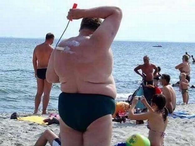 На пляже толстые фото фото 692-107