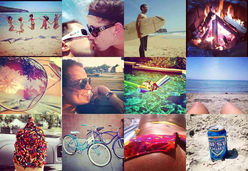 Как сделать летние фотографии