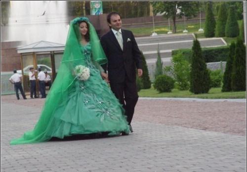 Свадебное платье безвкусное
